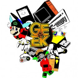 Geek t-shirt in madness...