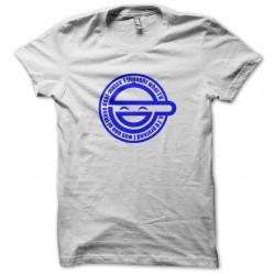 white sublimation logo t-shirt