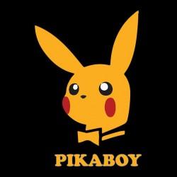 tee shirt pikaboy parody playboy black sublimation