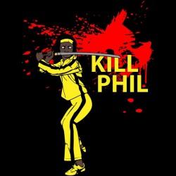 tee shirt michonne kill phil parodie kill bill  sublimation