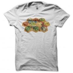 Settlers t-shirt white...