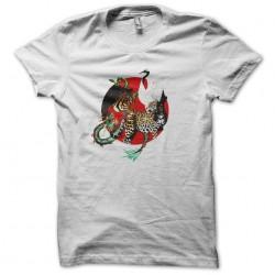 shirt five shaolin animals...