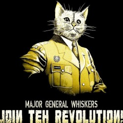 tee shirt general whiskers...