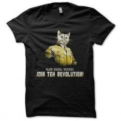 tee shirt general whiskers  sublimation