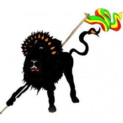 lion t-shirt of Judah white...