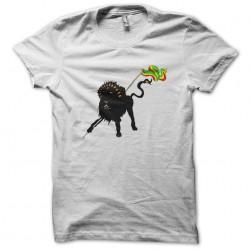 lion t-shirt of Judah white sublimation
