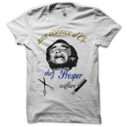 T-shirt prosper the golden scissors Aldo Maccione white sublimation