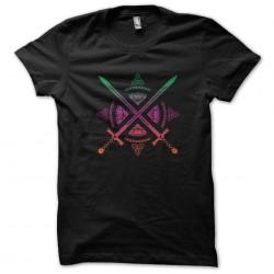 shirt sword logo fashion black sublimation
