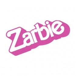 T-Shirt Zarbie White sublimation