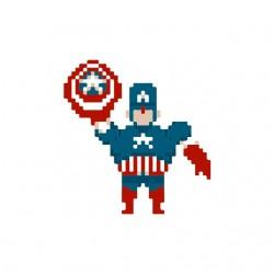 tee shirt captain america 8...