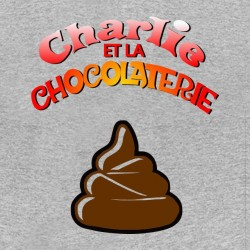 charlie t-shirt and the chocolate sublimation
