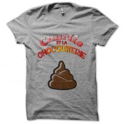 tee shirt charlie et la...