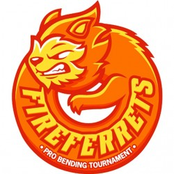 shirt fireferrets logo...