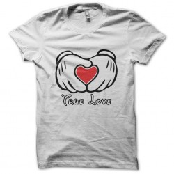 T-shirt Mickey and Love in...