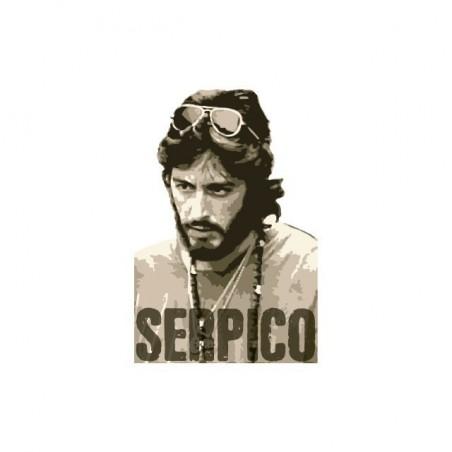 Tee shirt Serpico Al Pacino  sublimation