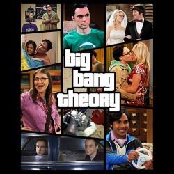 tee shirt Bing Bang theory verion GTA 5  sublimation