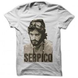 T-shirt Serpico Al Pacino white sublimation