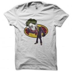 tee shirt the joker white...