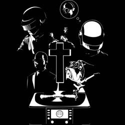 multi musicians black shirt sublimation