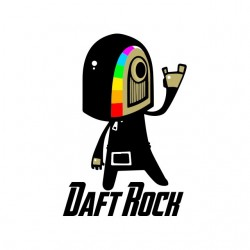 shirt Daft Rock white...