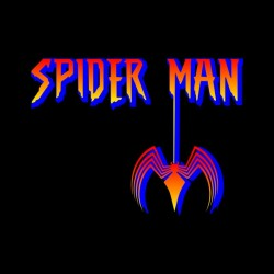 tee shirt spider man logo...