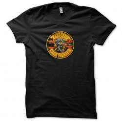 t-shirt zombie cage fighter...