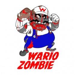 tee shirt wario bros zombie...