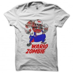 tee shirt wario bros zombie black sublimation