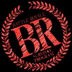 Battle Royale t-shirt black sublimation