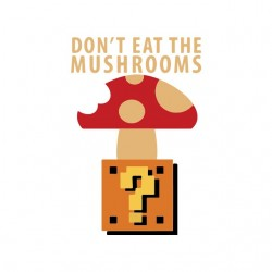 dangerous mushroom t-shirt...