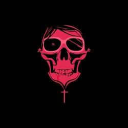 tee shirt pink skull...