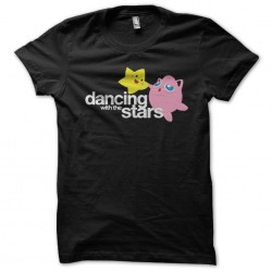 tee shirt dancing with the starsnoir sublimation