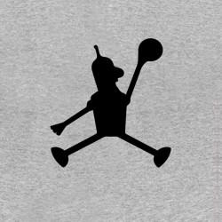 t-shirt air bender parody air jordan gray sublimation