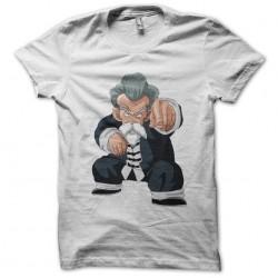 tee shirt jackie chun turtle genial white sublimation