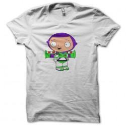 t-shirt stewie lightyear white sublimation