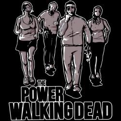 tee shirt the power walkingdead black sublimation