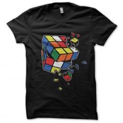 T-shirt Rubik's cube broken...