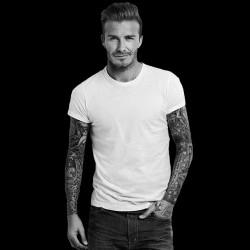 David Beckham shirt black sublimation