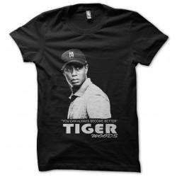 tee shirt Tiger Wood black...