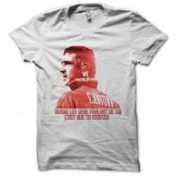 Eric Cantona white worship sublimation t-shirt