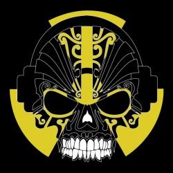 tee shirt Skull music...