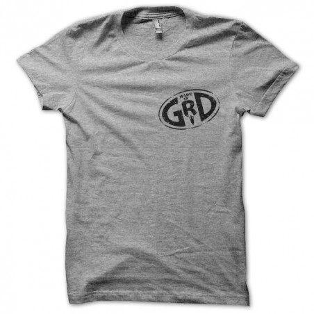 tee shirt Groland Made in GRD gris sublimation