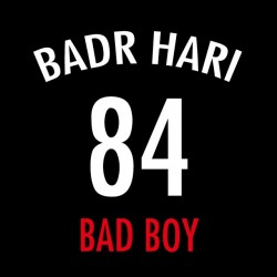 tee shirt BADR HARI 84 black sublimation