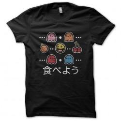 t-shirt Pacman items black...