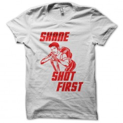 tee shirt Shane Shot first...