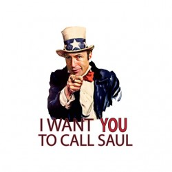 Tee shirt Call Saul I want you breaking bad  sublimation