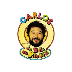t-shirt carlos I'm a funny white sublimation