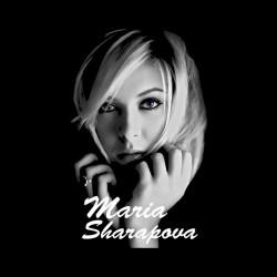 shirt Maria Sharapova black sublimation