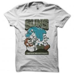 t-shirt anti dolphin violators white sublimation