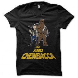 t-shirt Han and chewbacca...